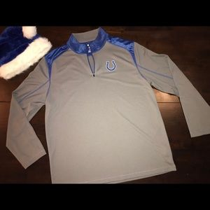 NFL Indianapolis Colts 1/4 ZIP Pullover - XL